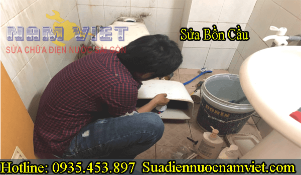 Thợ sửa ống nước nhà vệ sinh tại quận 12