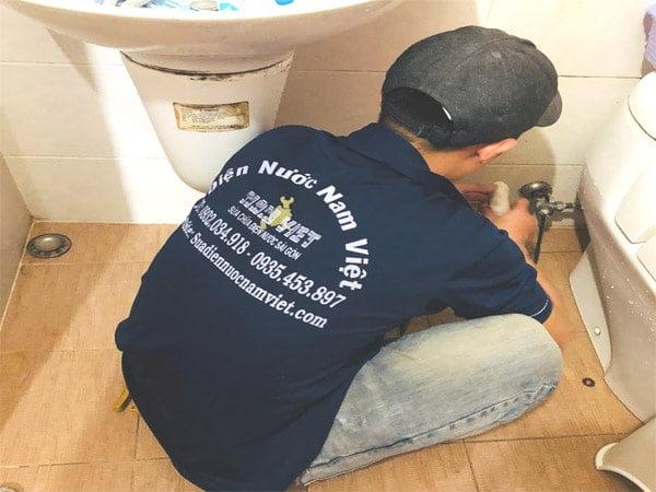 Thợ sửa ống nước tại quận Tân Bình TPHCM