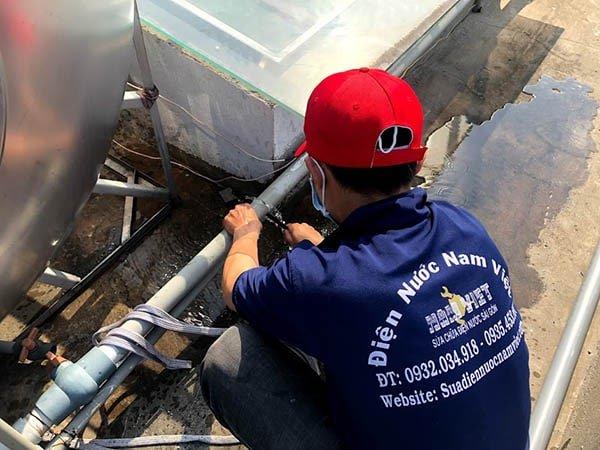 Thợ sửa ống nước nóng lạnh tại nhà Hồ Chí Minh