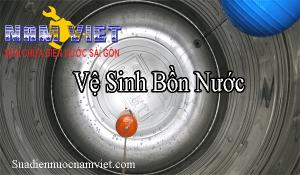 Vệ sinh bồn nước tại quận 1 Hồ Chí Minh