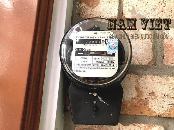 Lắp đồng hồ điện tại nhà quận 3