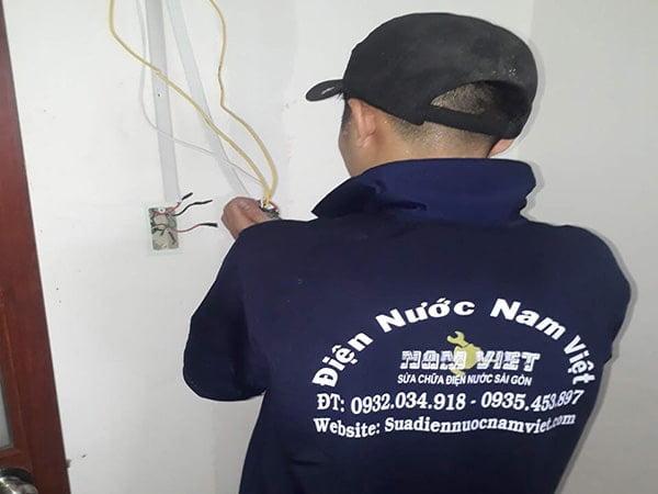 Sửa chữa điện nước giá rẻ tại quận Tân Phú