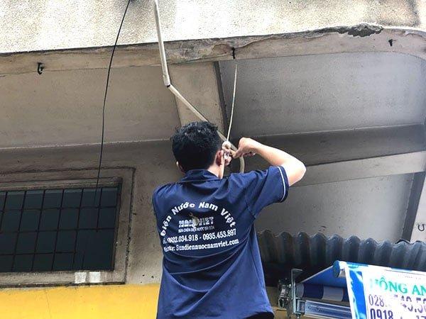Sửa điện tại nhà quận Bình Thạnh - Điện Nước Nam Việt