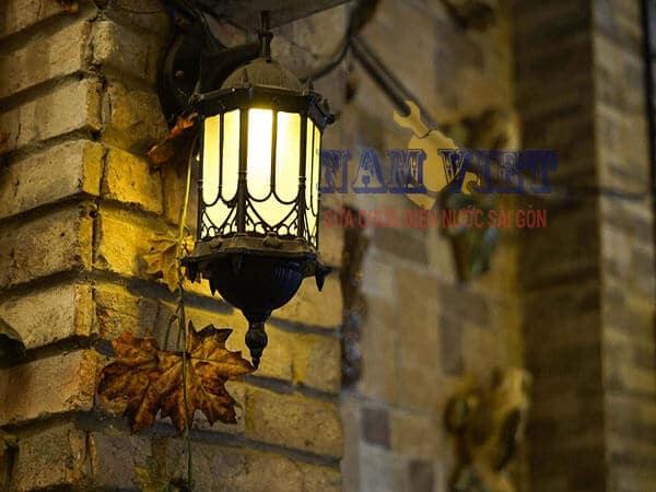 Nguyên tắc lắp đèn điện trong nhà