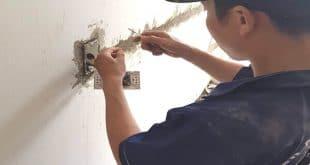 Thợ thi công, lắp đặt điện nước