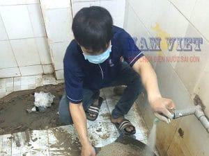 Sửa ống nước nhà vệ sinh tại quận 9