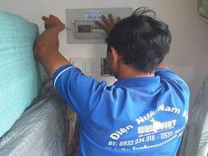 Sửa điện chập tại Tân Phú
