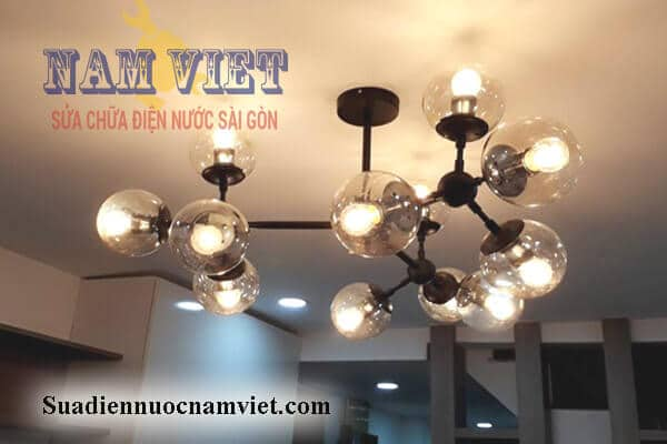 Lắp đèn trang trí tại nhà HCM