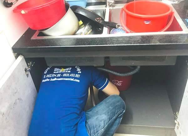sửa chậu rửa chén bát tại quận Gò Vấp