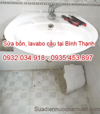 Sửa bồn cầu, lavabo ở tại quận Bình Thạnh