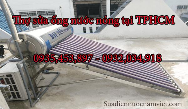 Thợ sửa ống nước nóng tại nhà TPHCM | Điện Nước Nam Việt