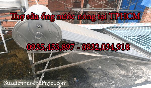 Thợ sửa ống nước nóng tại nhà TPHCM