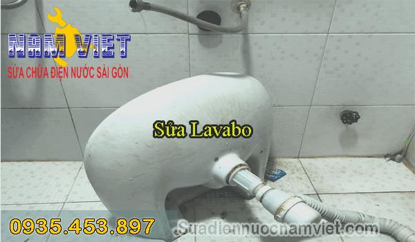 Sửa lavabo bị xệ tại quận 5
