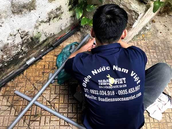 Thợ sửa đường ống nước ở quận 7