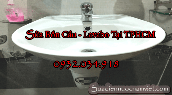 Lắp đặt lavabo ở quận 6 Hồ Chí Minh