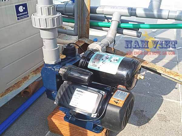 Lắp máy bơm nước tăng áp tại Gò Vấp