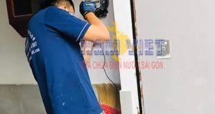 Sửa chữa điện nước tại nhà quận Bình Thạnh