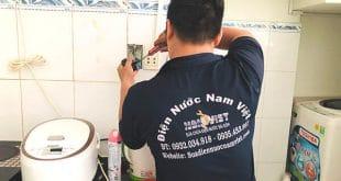 Sửa chữa điện nước tại quận Tân Bình giá rẻ
