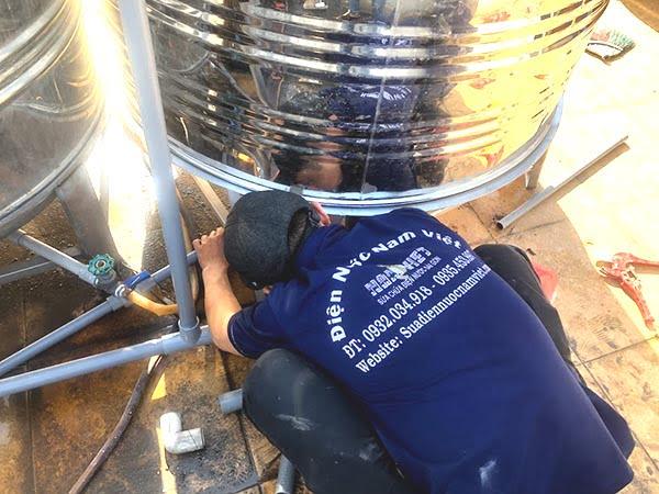 Lắp bồn chứa nước tại quận Gò Vấp