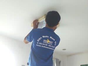 Lắp đèn ốp trần quận Tân Bình