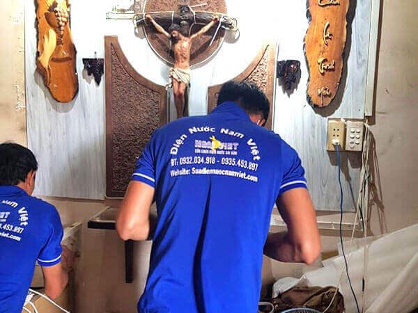 Thợ sửa chữa điện nước tại quận 3