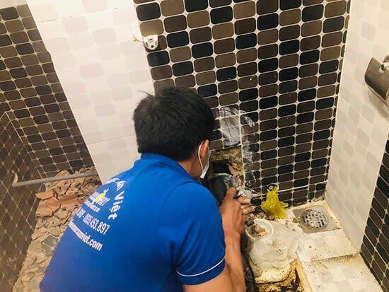 Sửa van khóa nước nhà tắm