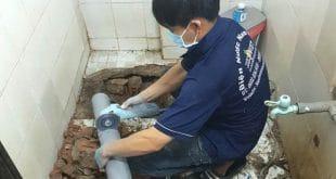 Thợ sửa ống nước thải tại quận Bình Thạnh