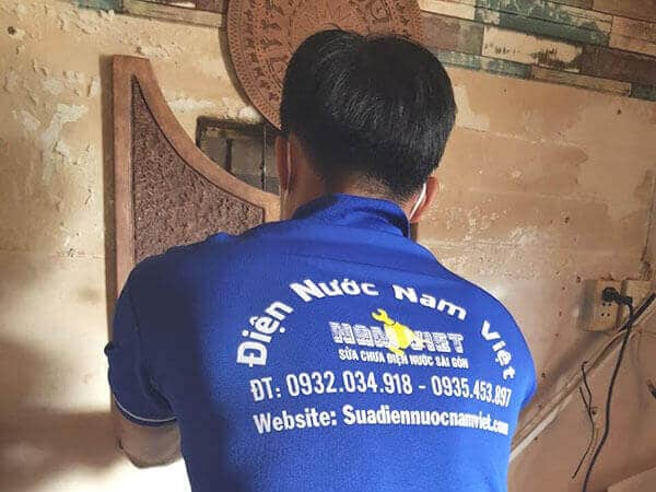 Thợ sửa chữa điện nước tại quận 11