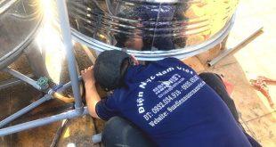 Lắp bồn nước inox tại quận Gò Vấp