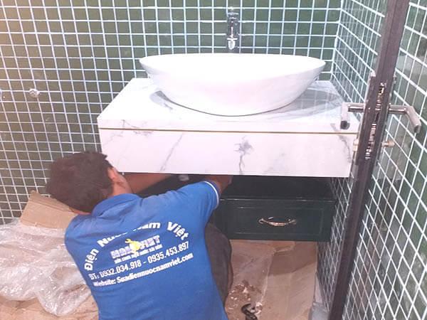Sửa bồn cầu, lavabo tại nhà quận 12
