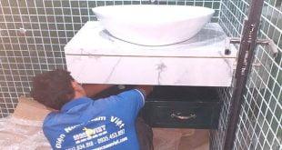 Thay vòi nước lavabo tại nhà TPHCM