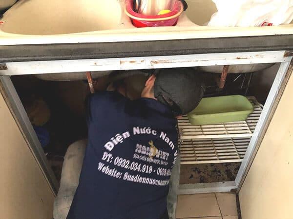 Thông nghẹt chậu rửa chén bát quận Gò Vấp