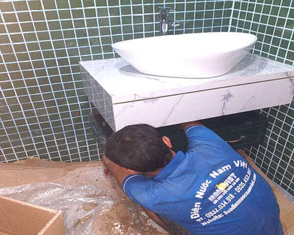 Lắp đặt lavabo (bồn rửa mặt) tại quận 1