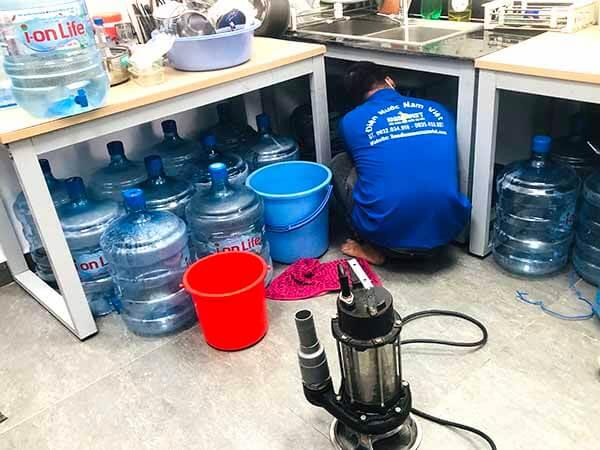 Thông nghẹt bồn rửa chén quận Phú Nhuận