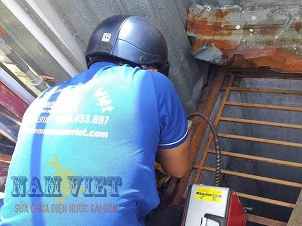 Thông tắc đường ống nước mưa quận Phú Nhuận