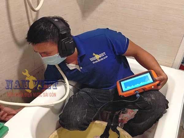 Dịch vụ dò tìm rò rỉ nước ngầm tại quận Gò Vấp