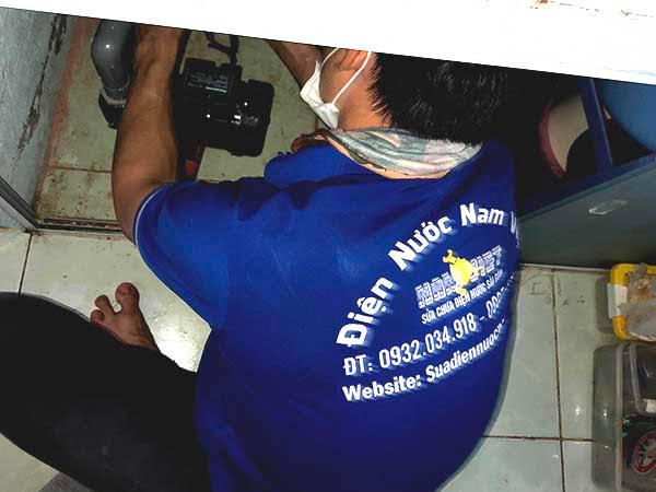 Lắp máy bơm nước đẩy cao panasonic 200w tại Phan Xích Long Phú Nhuận